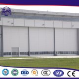 Segurança Exterior Industrial Metal vidro corrediço de porta automática
