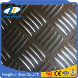 ASTM 201 304 430 310S Cr Hr Plaque antidérapante en acier inoxydable
