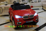 Véhicule électrique de bébé à télécommande de couleur rouge de BMW
