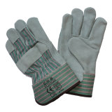 Schützende lederne Arbeits-Handschuhe der Sicherheits-En388 4144