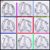 De in het groot Regelbare Echte Zilveren Ringen van Juwelen
