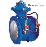 El diafragma/el pistón en línea avanzados de la válvula de control de fuerza (BFDG) se actuó