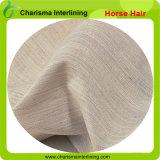 Interlining жесткой ткани волос лошади плавкий для костюмов портняжничая