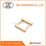 光沢度の高い表面の軽い金の金属のバックル