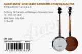 Тавро Aiersi с банджом Bj006-24 крышки резонатора кожи Remo Mahogany