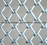 Treillis métallique électrique d'usine de la Chine de frontière de sécurité de maillon de chaîne de PVC Coating&