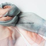 Scarve tessuto tinto mescolato lane di seta (AFS10004049)