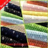 Вся обшивочная ткань жаккард полиэфирная ткань для женщины платье домашний текстиль