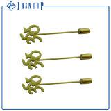 工場カスタム安い高品質のバッジの金属の折りえりピン、柔らかいエナメルまたは堅いエナメルの折りえりPin