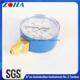 Продавать голубых стальных манометров кислорода случая горячий