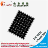 el mono panel solar de 24V 180W para la planta solar, sistema residencial