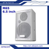 Toute la fréquence choisissent le cadre professionnel de haut-parleur de contact de 6.5 pouces (M65)