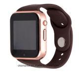 2017 Gw05スマートな腕時計Mtk 6572 SIMのカードのアンドロイド4.4のBluetooth 3G WiFiのカメラGPSの腕時計
