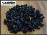 Piezas de torneado del nilón plástico del CNC de la precisión