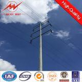 送電タワーのための132kv電気鋼鉄円形のポーランド人
