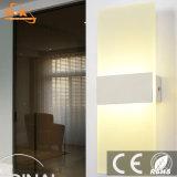 Muestra libre de cubierta Habitación Hotel LED de la lámpara de pared moderna