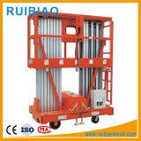 Het hydraulische Platform van de Lijst van de Lift van het Aluminium Enige Lucht Werkende