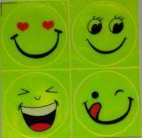 1 عبث صفح (4 [بكس]), لاصق انعكاسيّة صغيرة ابتسام وجه لأنّ درّاجة ناريّة, درّاجة, أيّ حيث لأنّ أمينة مرئيّة