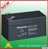 Koyama 12V1.3ah Ventil regelte Leitungskabel-Säure-Batterien für Notbeleuchtung