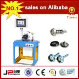 Machine de équilibrage de rotor de tornade d'axe de fibre chimique du JP