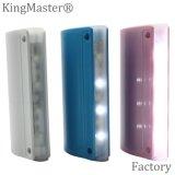 côté en plastique de pouvoir de la qualité 4400mAh avec l'éclairage LED