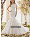 2017 van Kleding Ctd6842 van het Huwelijk van de Toga van de Bal van de Schouder de Bruids
