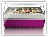 22の版のGelatoのアイスクリームのショーケースのフリーザー