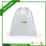 Peut ajouter du logo Cinch Pack Use and Custom Drawstring Nylon Bag