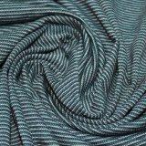 153gsm de fio de poliéster de algodão tingidos de Faixa do Alimentador Jersey
