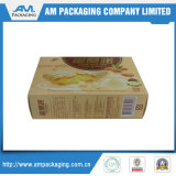 Los envases de alimentos pequeños contenedores de papel caja plegable de piña galletas Panadería