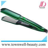 L'alluminio veloce professionale placca il raddrizzatore dei capelli con i piatti del Tourmaline e di ceramica del rivestimento