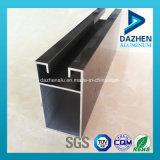 Perfil de aluminio modificado para requisitos particulares grano de madera de la protuberancia para la puerta de la ventana