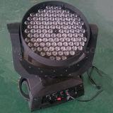 RGBW DMX512 108X3w LED drehender Träger-beweglicher Kopf
