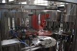 Pequeña máquina de rellenar del agua mineral de la botella