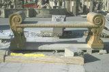 大理石のベンチの石のベンチの庭のベンチMB-018