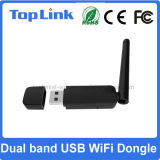 802.11 fonction douce de carte réseau sans fil d'a/B/G/N 300Mbps Ralink Rt5572 de WiFi du support à deux bandes AP de dongle