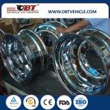 Obt высшего качества погрузчика сплав алюминиевых ободьев колес 24.5