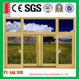Het aangepaste Openslaand raam van het Aluminium van het Eiken Hout van Amerika van de Grootte