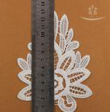 Шнурок уравновешивания шнурка ворота хлопка торшона водорастворимый химически для женской одежды