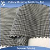 Tela tejida de la ropa del estiramiento de la manera del Spandex 4 del poliester de Houndstooth