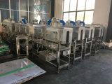 Tunnel de rétraction à vapeur d'étiquettes pour bouteilles en plastique