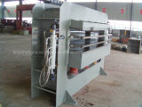 China Linyi 160 toneladas 3 capas de madera de la madera contrachapada que trabaja la máquina caliente de la prensa