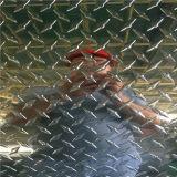 Plaque 3003 Checkered en aluminium pour l'anti panneau de glissade