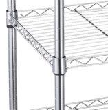 炭素鋼のクロム金網の帯電防止世帯の棚付け