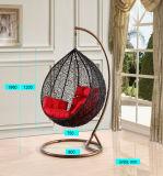 Chaise suspendue pour meubles de patio en rotin de loisirs modernes (J811)