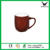 La coutume renforcent la tasse en céramique blanche de porcelaine blanc de sublimation