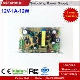 12V 1A 12W Schaltungs-Stromversorgung für LED-Beleuchtung