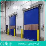 Tela do PVC de Alta Velocidade Rola Acima a Porta para a Fábrica Farmacêutica da Droga