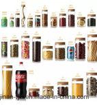 Bouteille d'huile de ricin d'apothicaire par verre borosilicate