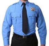 Camisa de uniforme de guarda de segurança personalizada T / C